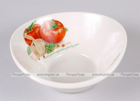 Салатница Bona Fresh Salad овальная 18х17см