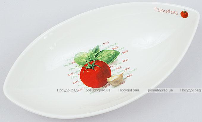 """Салатник сервировочный Fresh Salad """"Помидора"""" гондола 21х11см"""