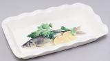 Блюдо Bona Рыба, зелень и лимон для заливного 27х15см