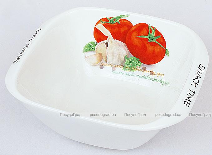 """Салатник Fresh Salad """"Помидоры"""" фарфор 17х14см"""