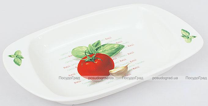 "Салатник Fresh Salad ""Помидора"" фарфор 27х14см"