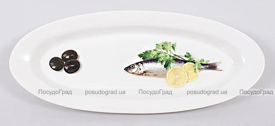 Блюдо для рыбы Sea Food 30х12см