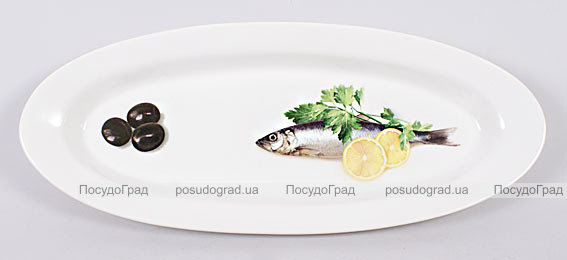 Блюдо для рыбы Sea Food 35х15см