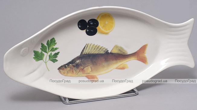 """Блюдо для рыбы Sea Food """"Рыбка 1"""" 38х19см"""