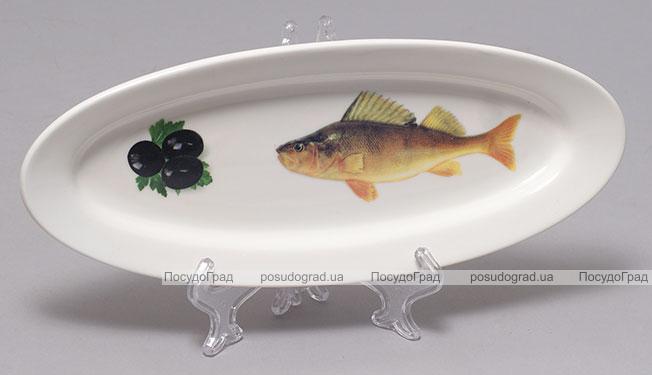 """Блюдо для рыбы Sea Food """"Оливки"""" 26х10см"""