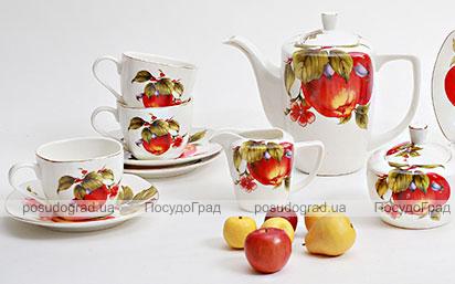 Чайный сервиз Farm Garden A12 270мл 15 предметов на 6 персон