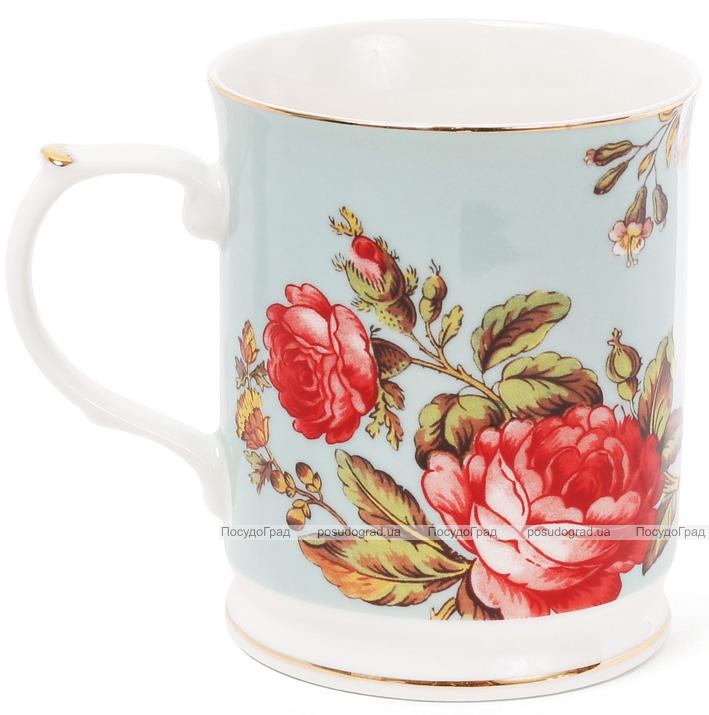 """Кружка (чашка) Golden Iris """"Тереза фарфоровая"""" 400мл"""