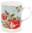 "Кружка (чашка) Golden Iris ""Тереза порцелянова"" 400мл"