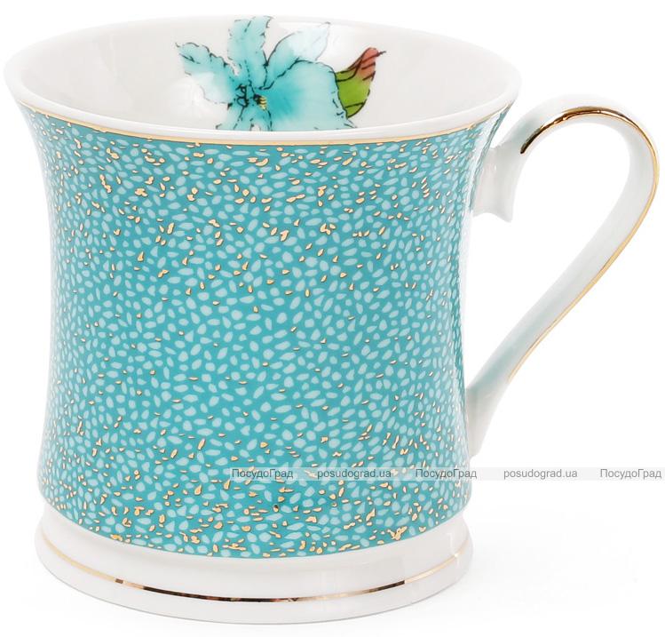 """Кружка (чашка) Golden Iris """"Голубой ирис"""" 375мл"""