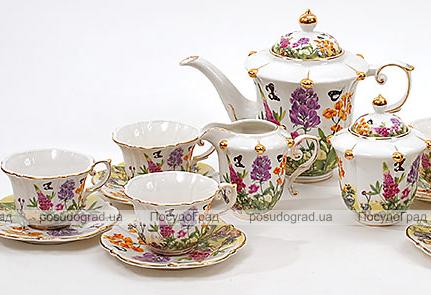 Чайный сервиз Farm Garden D10 200мл 15 предметов на 6 персон