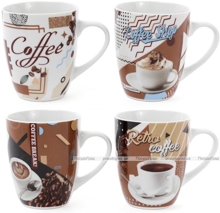 "Кружка фарфоровая ""Retro Coffee"" 375мл"