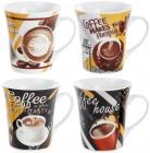 "Кружка фарфоровая ""Coffee makes you friendly"" 375мл"