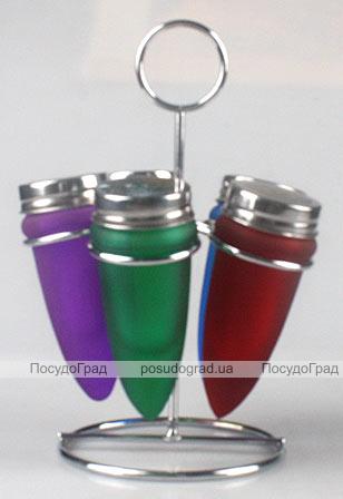 Набор для специй Bona Spices Color на металлической подставке