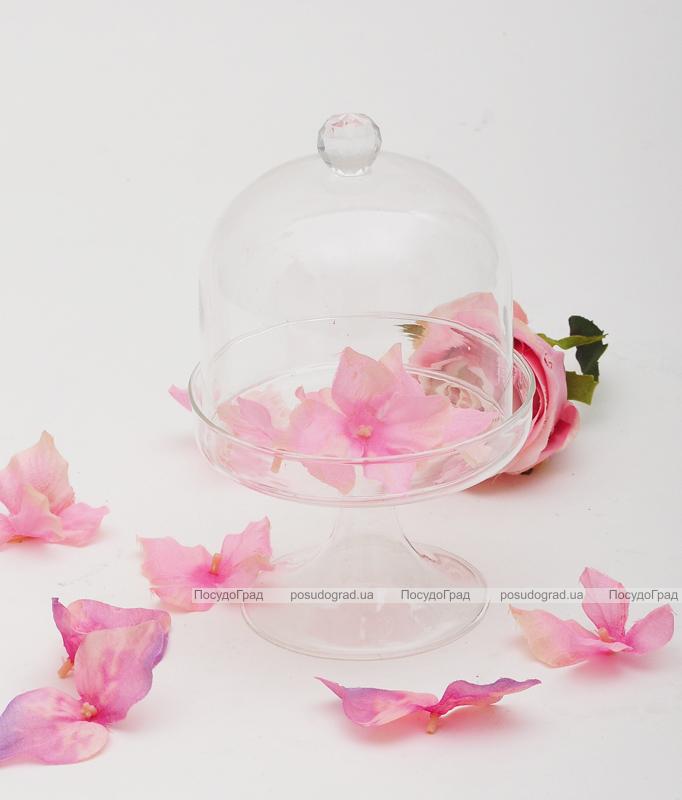 Бонбоньерка Luton стеклянная 11x18см