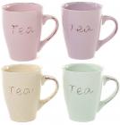 "Кружка Shabby Chic ""Tea"" 320мл керамика"