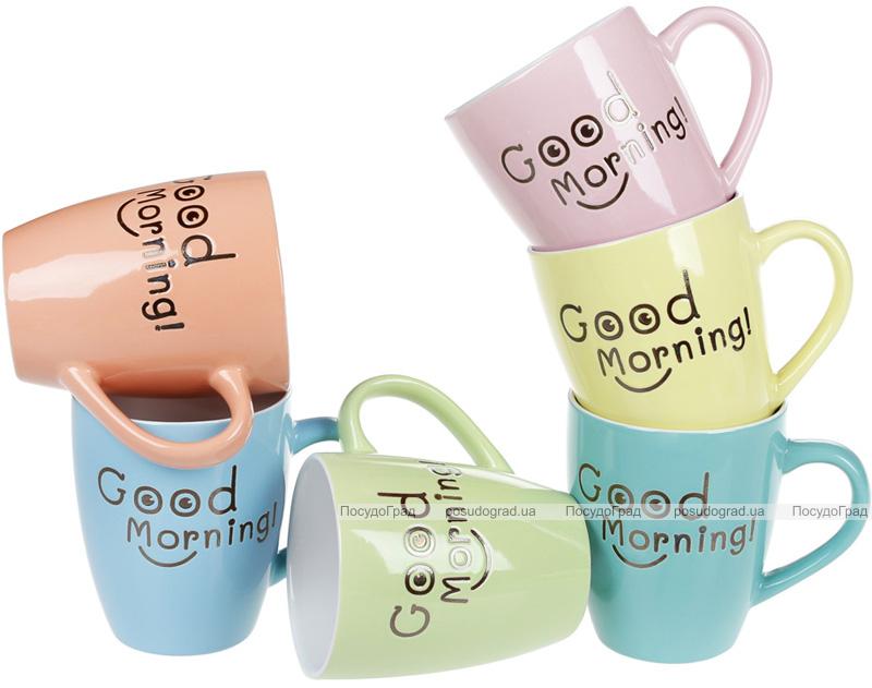 "Кружка ""Good Morning"" (Доброго Ранку) 360мл, кераміка"