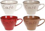 """Кружка керамічна """"Cafe"""" 450мл, кераміка матова"""