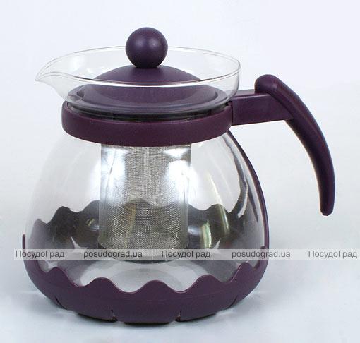 Чайник заварочный Bona Fiorenti 1100мл стеклянный с фильтром
