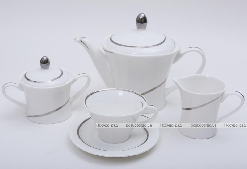 Кофейный сервиз Princess Bona-19 15 предметов, фарфор