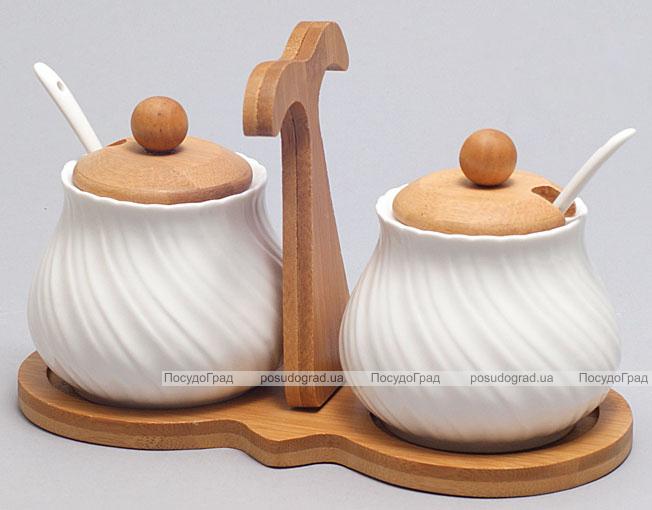 Набор для сахара, меда или специй Ceram-Bamboo 7 предметов
