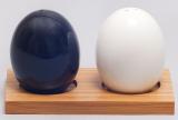 """Набор для специй Ceram-Bamboo """"Яйца"""" соль/перец на подставке"""