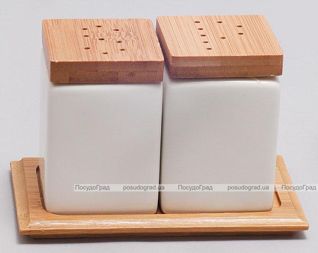 """Набор для специй Ceram-Bamboo """"Классические"""" соль/перец на подставке"""