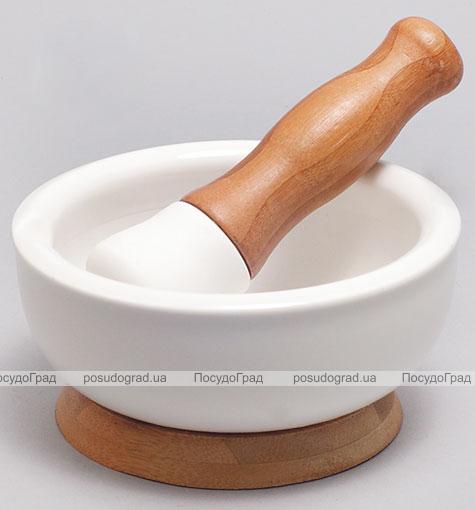 Ступа фарфоровая с пестиком Ceram-Bamboo 12,4см
