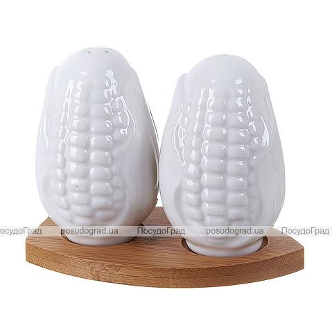 "Набор для специй Ceram-Bamboo ""Кукуруза"" соль/перец на подставке"