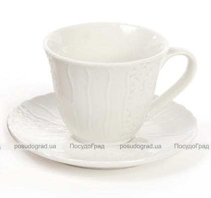 Набір 6 кавових чашок Ceram-Bamboo 100мл на дерев'яній підставці