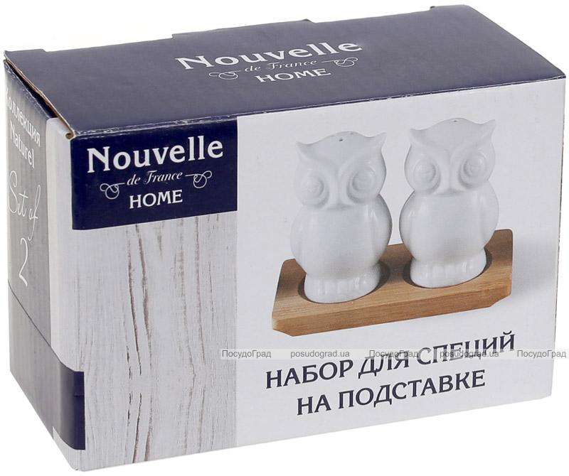 Набір для спецій Nouvelle Home Совушки 11.7х7.5х8.3см