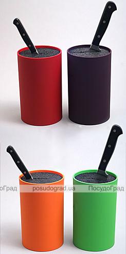 Колода для ножей Best Home Kitchen Ø11x18см цветная с пропиленовым волокном