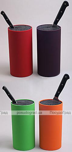 Колода для ножей Best Home Kitchen Ø11x23см цветная с пропиленовым волокном