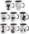 """Кружка-заварник """"Чорний Кіт"""" 450мл з металевим фільтром"""