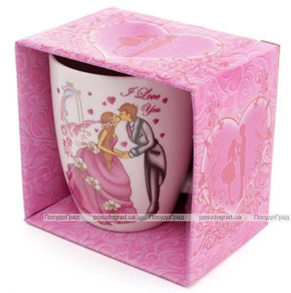 """Кружка фарфоровая """"Valentine"""" 350мл в подарочной коробке"""