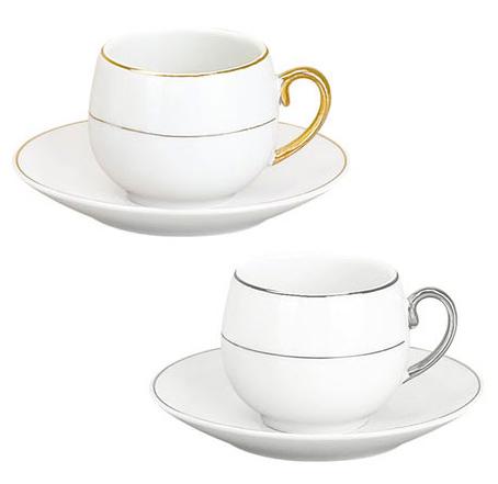 Набор Parma-01 для эспрессо 6 чашек 80мл и 6 блюдец