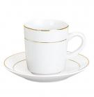 Набор Parma-02 для эспрессо 6 чашек 90мл и 6 блюдец