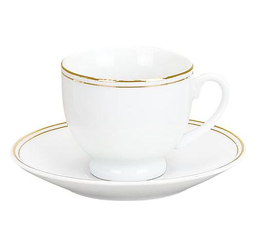Набор Parma-07 для эспрессо 6 чашек 90мл и 6 блюдец