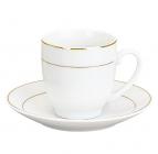 Набір Parma-09 для еспресо 6 чашок 90мл і 6 блюдець