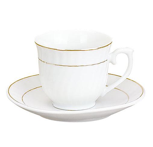 Набор Parma-11 для эспрессо 6 чашек 80мл и 6 блюдец