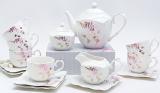 Чайний сервіз Spoleto-12 15 предметів на 6 персон, порцеляна, 220мл