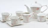 Чайний сервіз Spoleto-19 15 предметів на 6 персон, порцеляна, 220мл