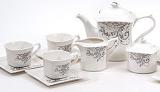 Чайний сервіз Spoleto-22 15 предметів на 6 персон, порцеляна, 220мл
