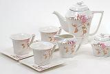 Чайний сервіз Spoleto B27 220мл 15 предметів на 6 персон