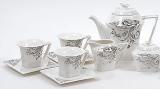 Чайний сервіз Spoleto B29 220мл 15 предметів на 6 персон