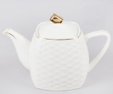 Чайник заварочный White Princess 550мл квадратный