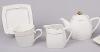 Чайный сервиз White Princess 15 предметов, квадратный