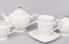 Чайный сервиз White Princess 15 предметов, круглый