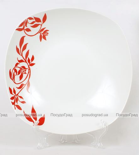 Набор 12 тарелок Napoli-B23 суповая полупорционная Ø23см