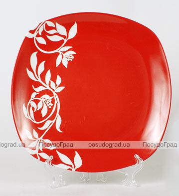 Фарфоровая тарелка Napoli-C24 обеденная Ø26см