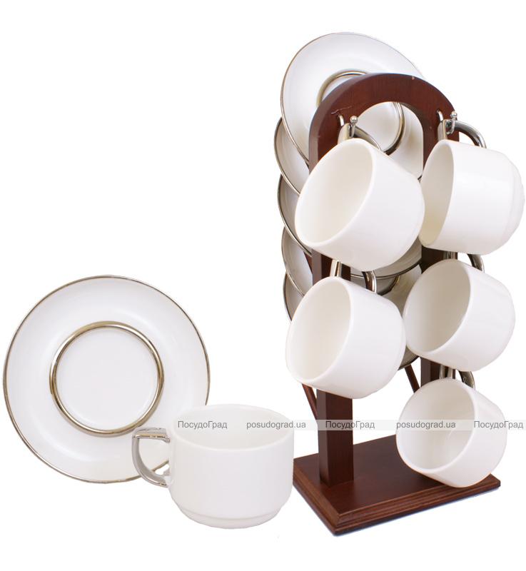 Набор кофейный Ceram-Bamboo 100мл 13 предметов на 6 персон